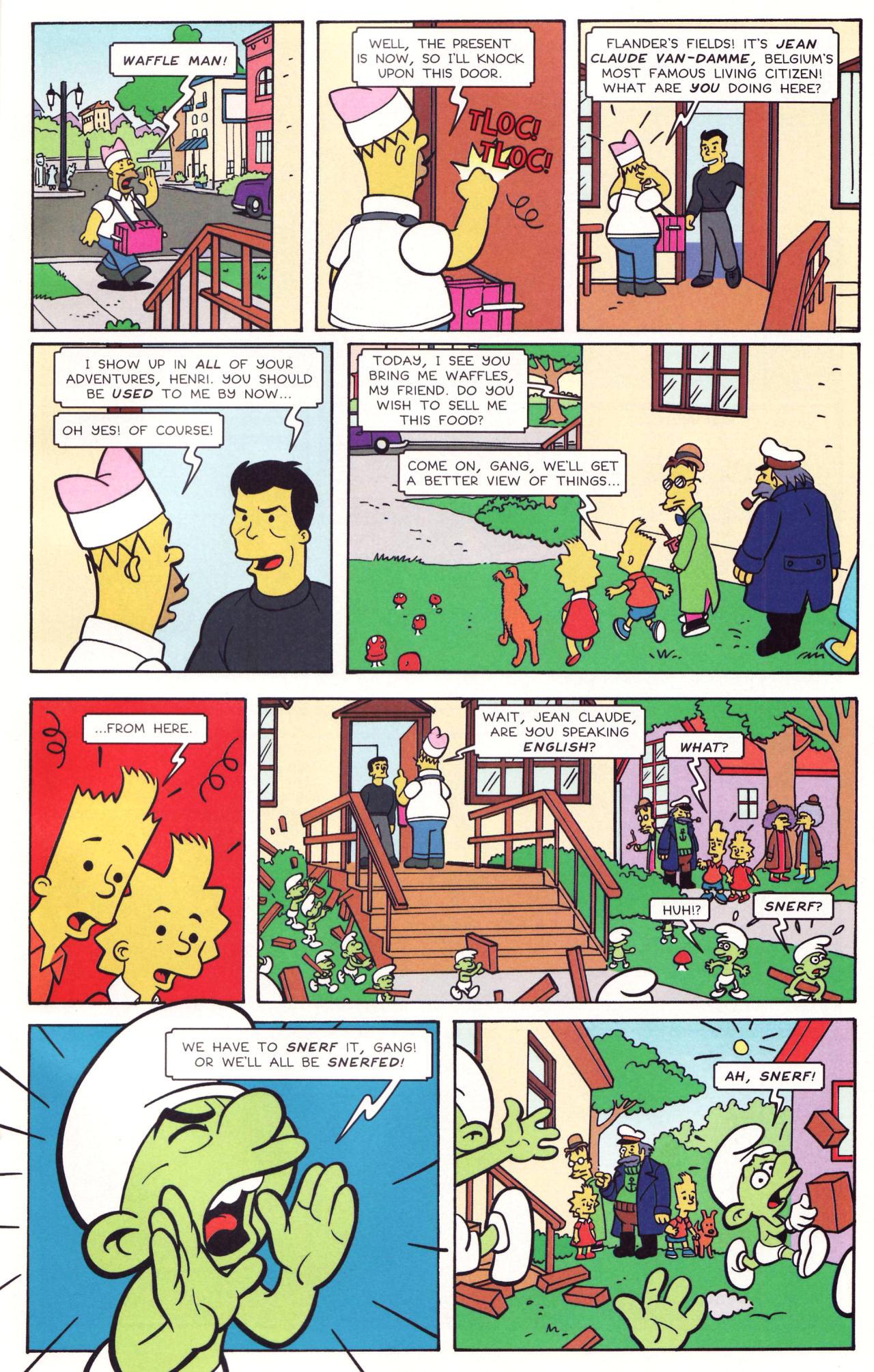Read online Simpsons Comics comic -  Issue #131 - 18