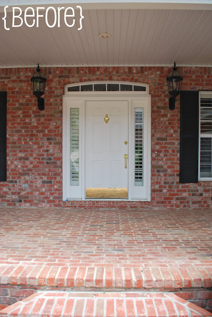 She 39 s a brick house exterior popular home decorating - Front door colors for brick houses ...