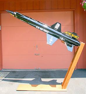 Greg's X15 High Power Rocket Project