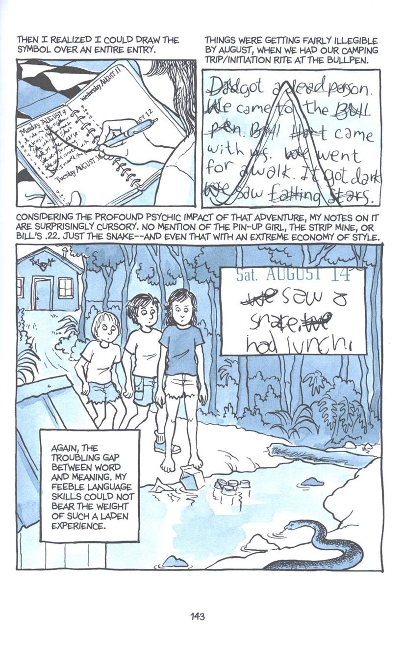 Read online Fun Home: A Family Tragicomic comic -  Issue # TPB - 149