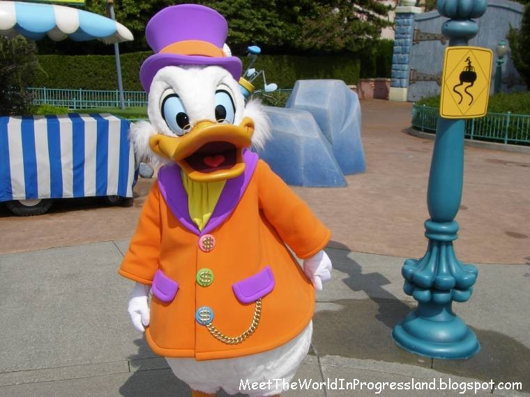 Meet The World: Tax Day, Uncle Scrooge and a Disneyland Birthday