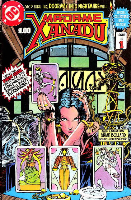 Madame Xanadu v1 #1, 1981 dc bronze age comic book cover - 1st Madame Xanadu