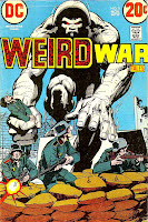 Weird War Tales v1 #8 dc bronze age comic book cover art by Neal Adams