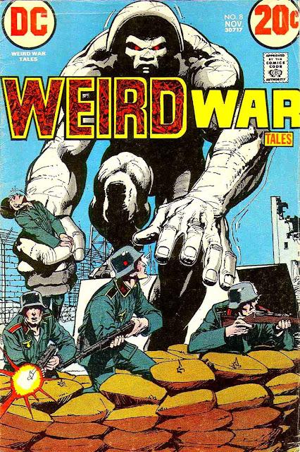 Weird War Tales v1 #8 dc bronze age comic book cover art by Neal Adams