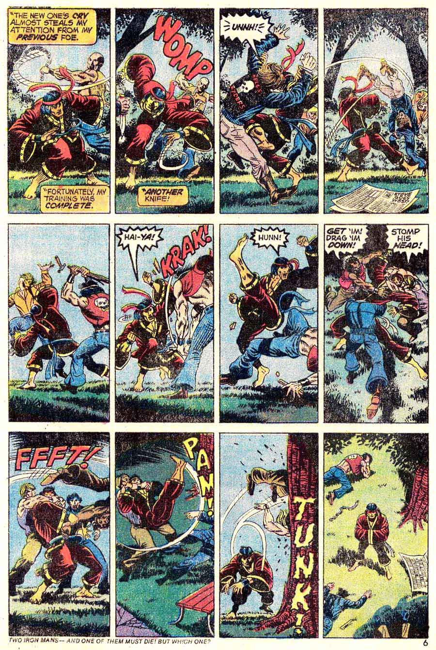 Special Marvel Edition v1 #16 marvel 1970s bronze age comic book page art by Jim Starlin