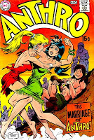 Anthro v1 #6 dc silver age 1960s comic book cover art by Wally Wood