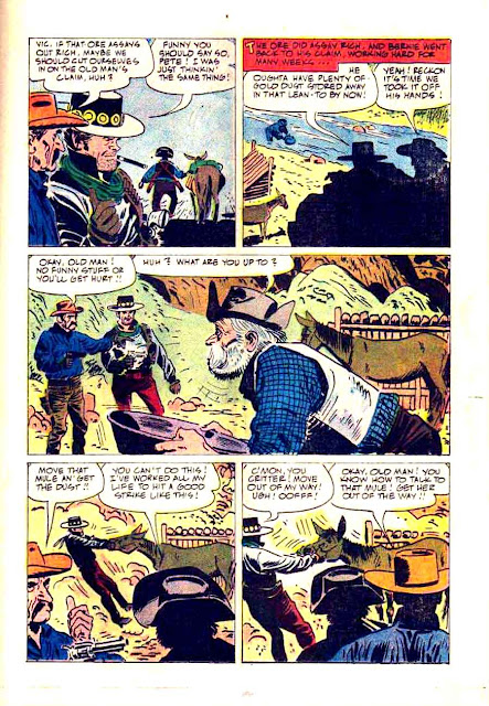 Maverick v1 #13 - Alex Toth dell tv western silver age comic book page art