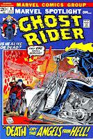 Marvel Spotlight v1 #6 Ghost Rider marvel comic book cover art by Mike Ploog
