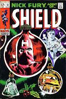 Nick Fury Agent of Shield v1 #10 marvel comic book cover art