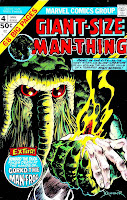 Giant-size Man-Thing v1 annual #4 marvel 1970s bronze age comic book cover art by xxxxx