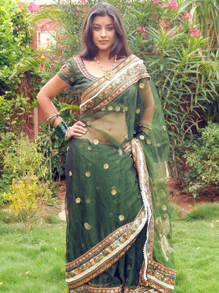 Transparent Saree: Tabu Hot In Transparent Saree