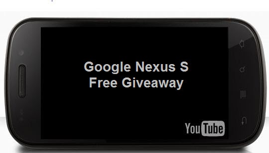 Google Nexus S Free Giveaway on Twitter ~ Latest Mobile News