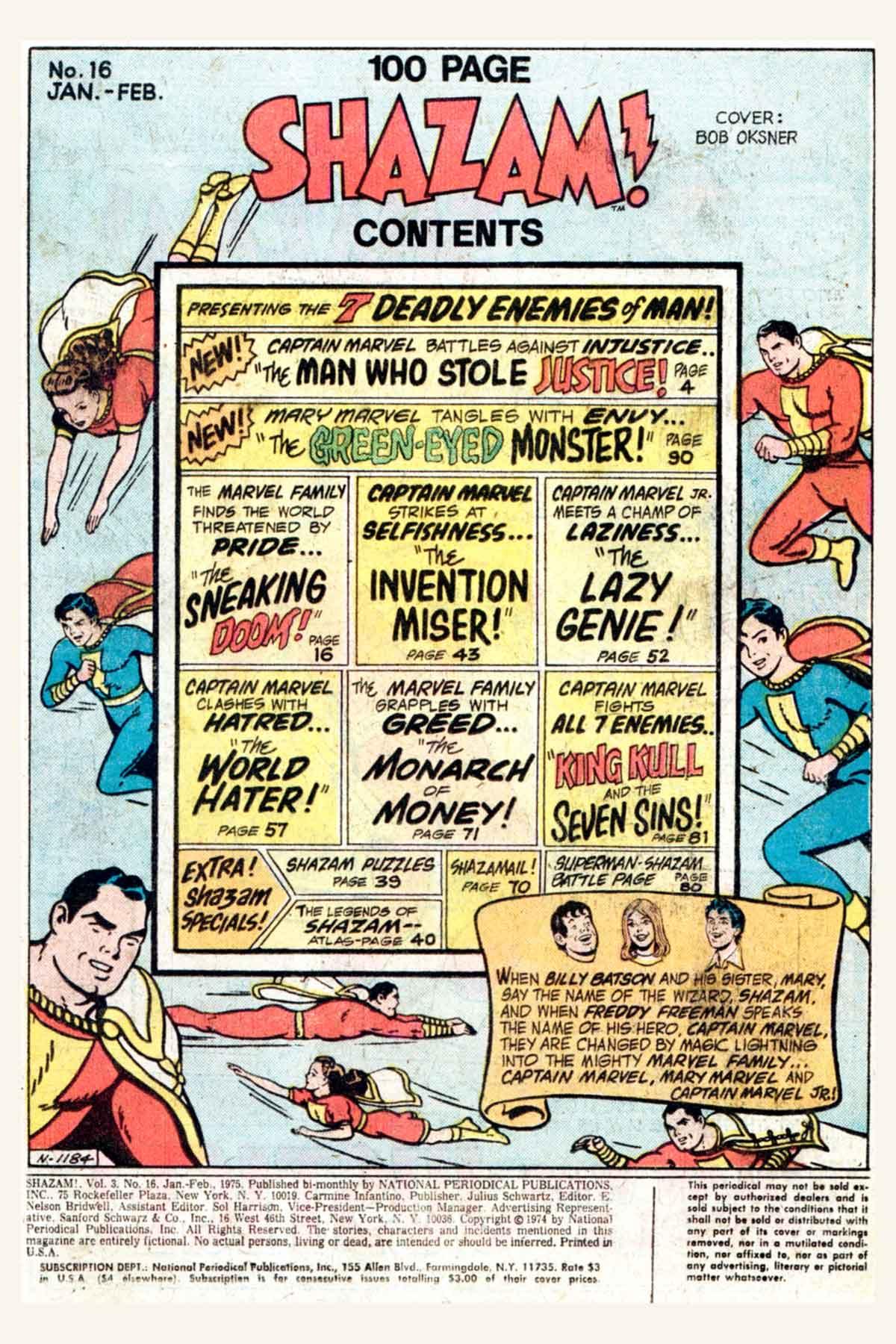 Read online Shazam! (1973) comic -  Issue #16 - 3