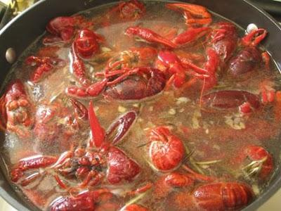 Boiled Seasoning Crawfish  Beachloverkitchen