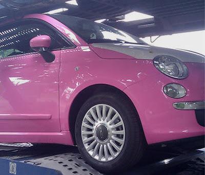 New Fiat 500 Rosa Pink My Car S Modify