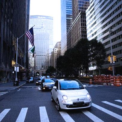 Fiat Of Manhattan >> Cars The Car New Fiat 500 Una Cinquecento A Manhattan