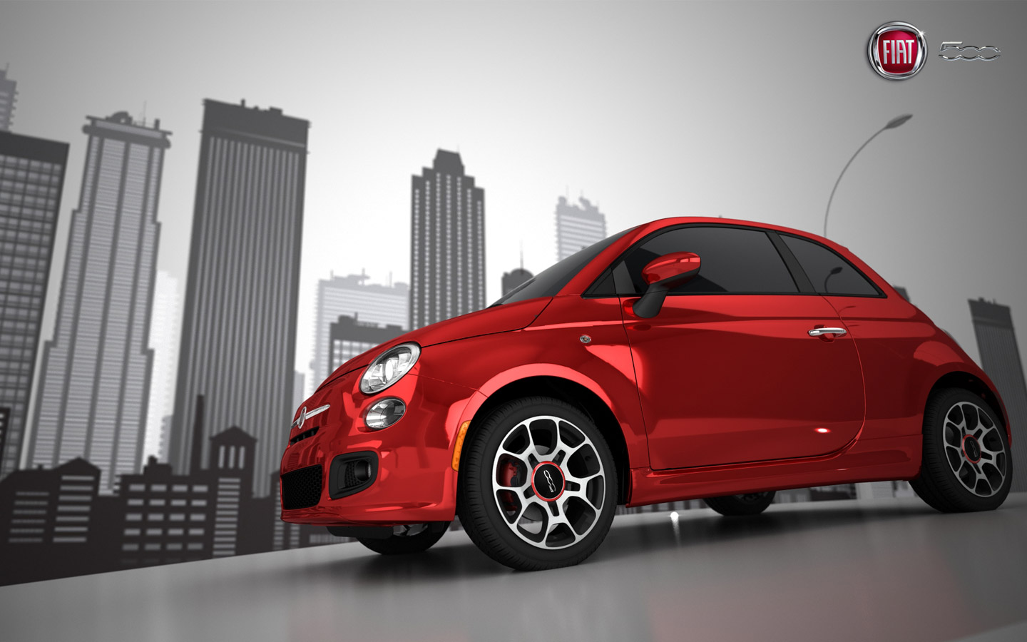5ooblog | FIAT 5oo: New Fiat 500 US Wallpaper (PC & iphone)