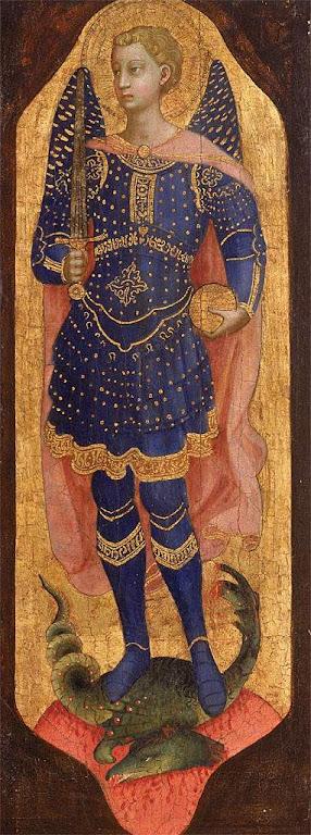 São Miguel Arcanjo,  Jacopo Torriti  (1267-1292) Grenoble, Musée des Beaux Arts