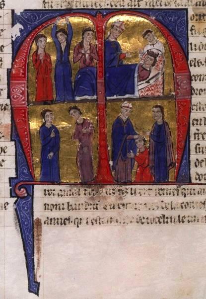 Episódios da vida de Balduino IV.