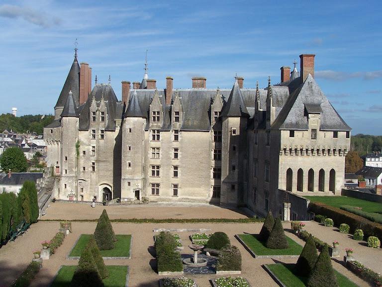 Langeais, fachada, castelos medievais