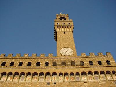 Palácio da Signoria, Florença, arcos, A Cidade Medieval