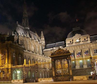 Conciergerie, Sainte Chapelle e Palais de Justice