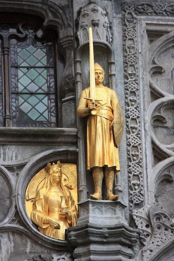 Cavaleiro, Bruges, Belgica