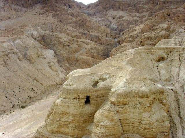 Qumran, a região dos documentos enterrados