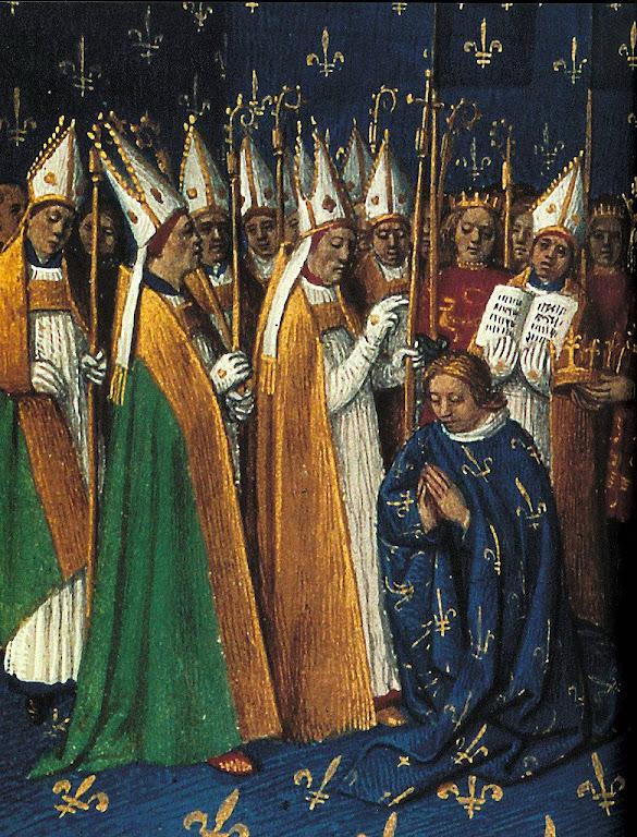A sagração dos reis da França: um dos pontos altos da suavização dos costumes na Idade Média