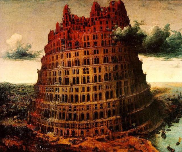Torre de Babel 'pequena', Pieter Bruegel