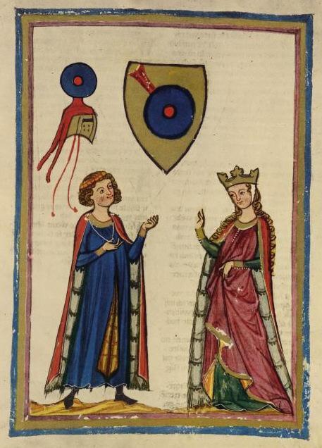 A família von Kurneberg, manuscrito Manesse.