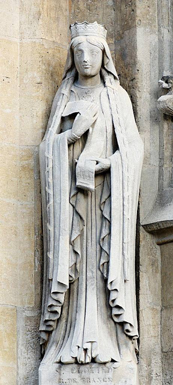 Santa Clotilde, igreja de Saint Germain l'Auxerrois, Paris