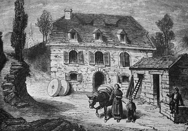 O moinho Lacadé, nova casa para a família Soubirous