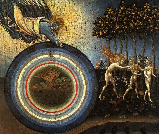 Criação do Mundo e expulsão do Paraíso, Giovanni di Paolo