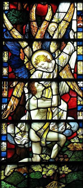 Criação de Adão, catedral de Saint Edmundsbury, Inglaterra