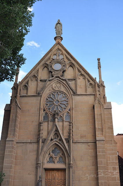 Fachada da capela