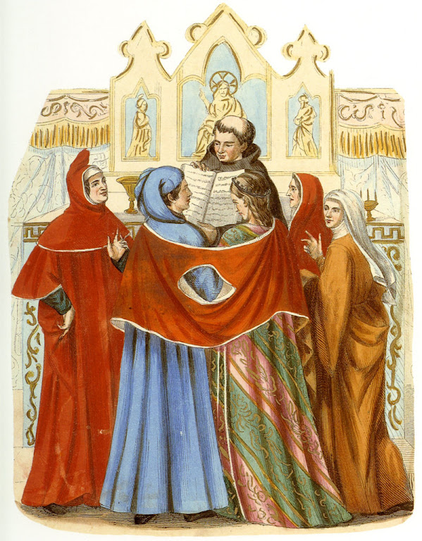 Cerimônia de casamento nos séculos XII e XIII
