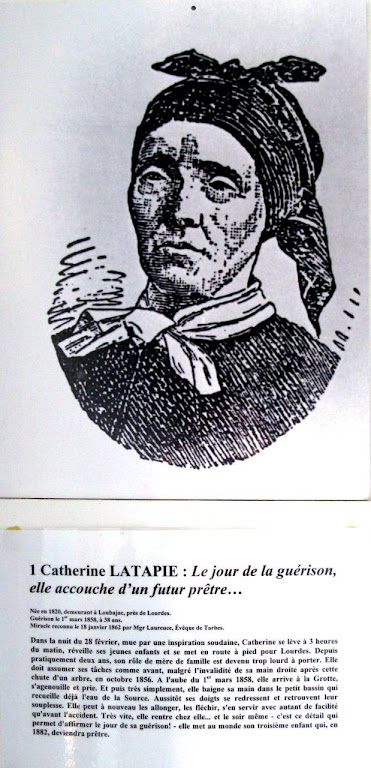 Catherine Latapie, primeiro milagre reconhecido de Lourdes