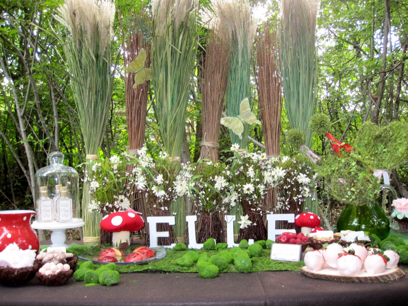 Incredible Woodland Fairy Birthday Party!  Design Dazzle