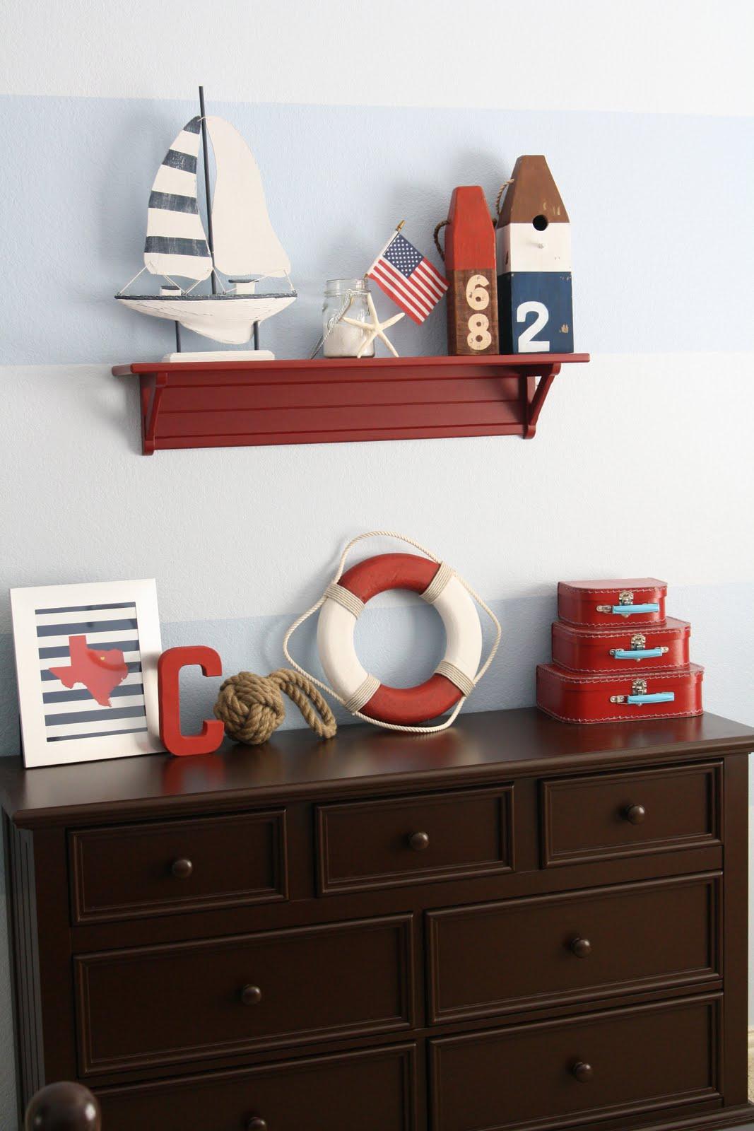 Nautical Bedroom on Pinterest | Nautical, Boys Nautical ...