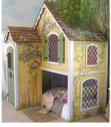 cottage bedroom playhouse bed sweet another duty double does beds bunk dazzle