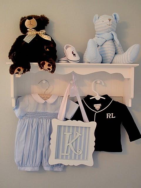 Elegant Baby Boy Nursery: Home Sweet Home: Classic Elegant Boy's Nursery