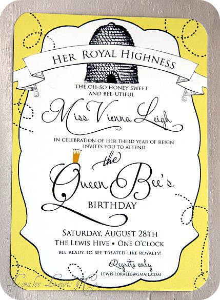 Diary LifeStyles: The Queen Bee's Birthday