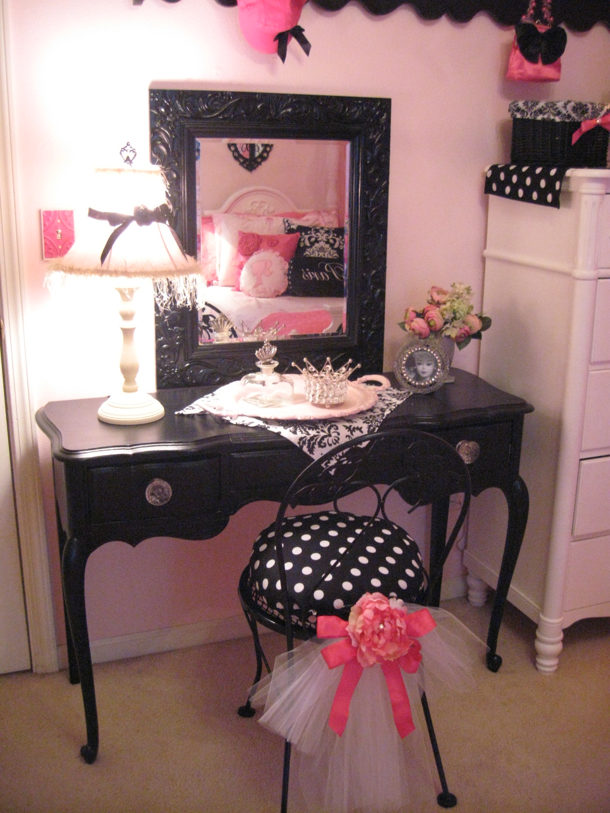 Vintage Barbie Parisian Room Design Dazzle