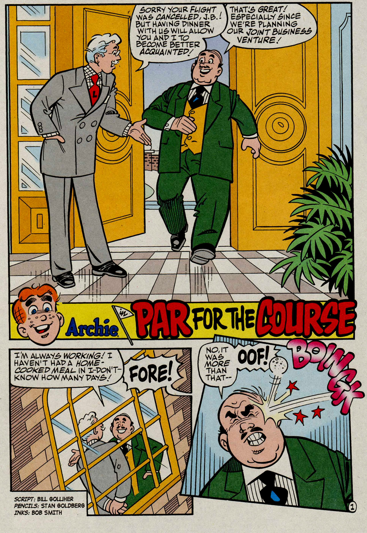 Read online Archie (1960) comic -  Issue #585 - 13
