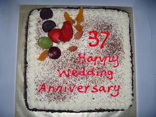 Hy 37th Wedding Anniversary