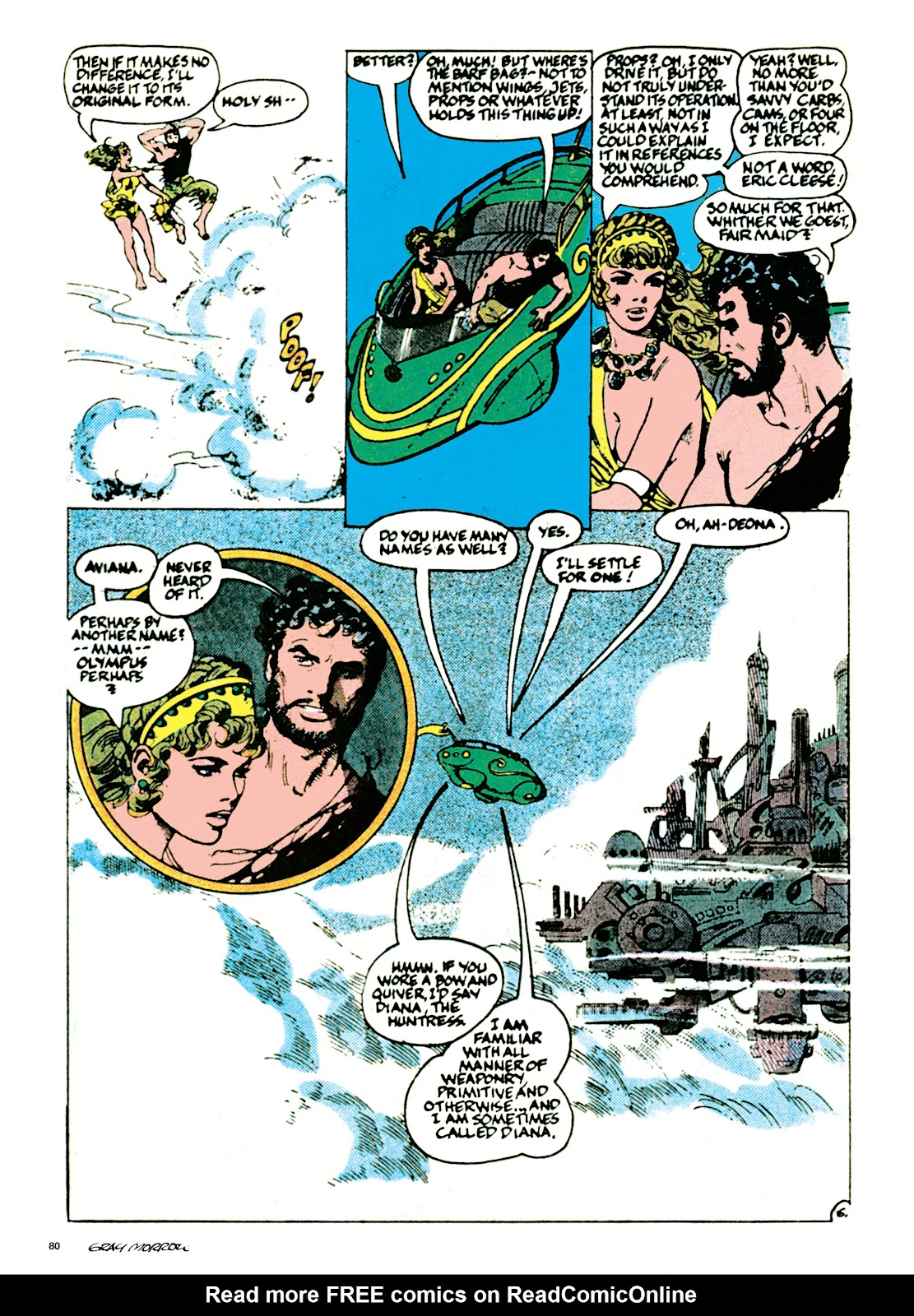 Read online Orion and Edge of Chaos comic -  Issue # TPB - 81
