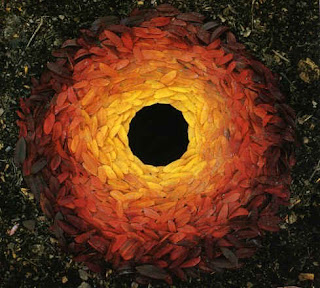 environmental art - Andy Goldsworthy