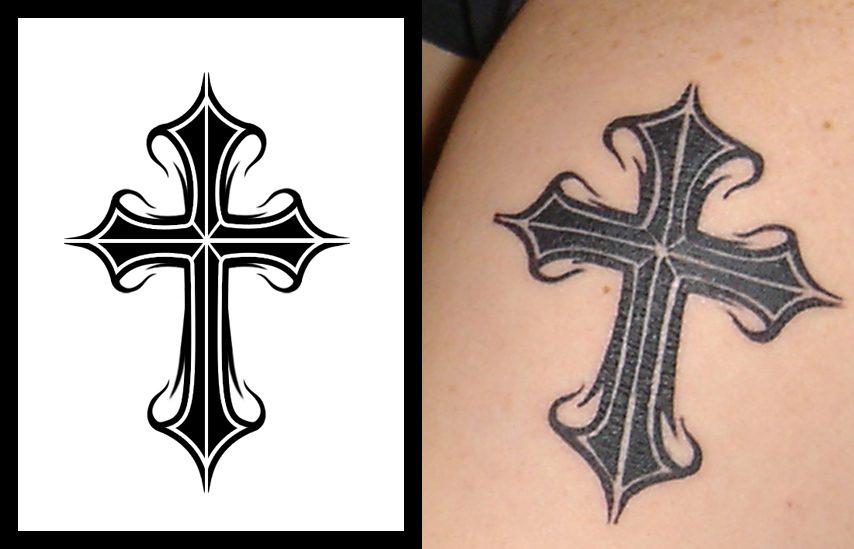 cross tattoo1