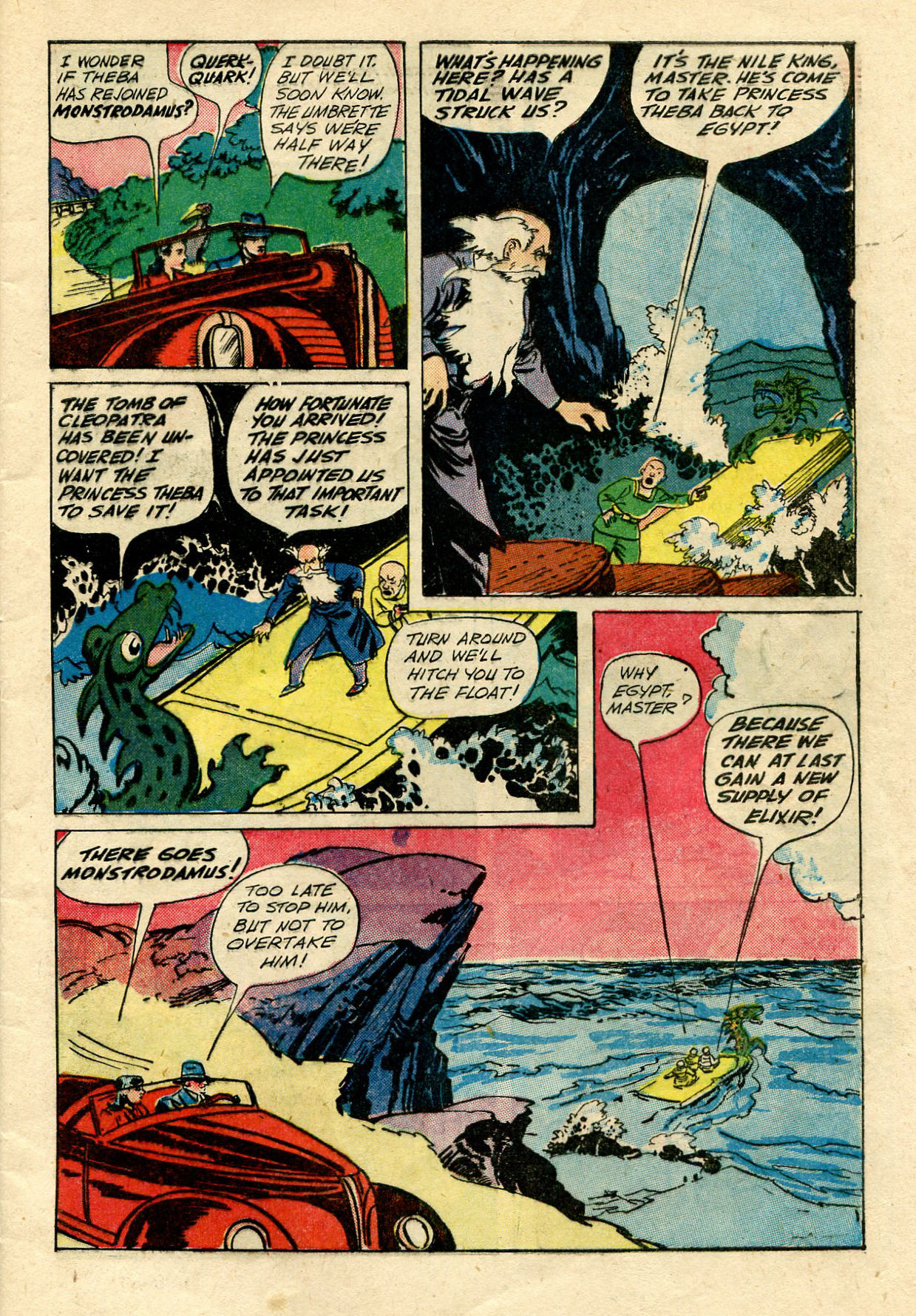 Read online Shadow Comics comic -  Issue #33 - 7